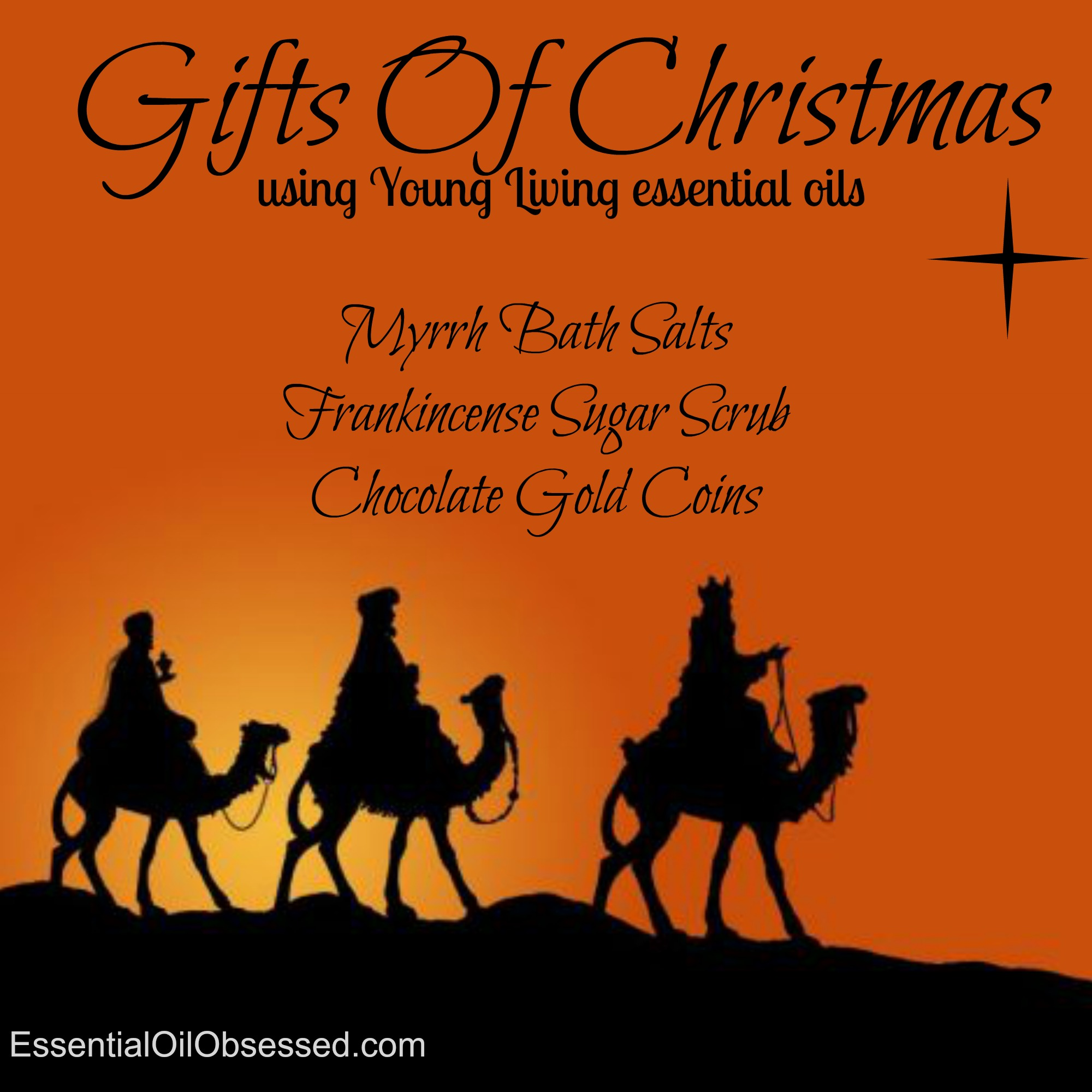gifts of christmas infographic - Christmas Essential Oils