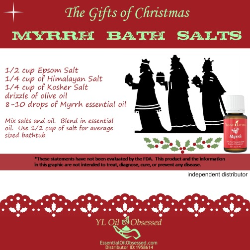 Myrrh bath salts