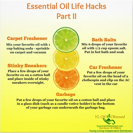 essential oil hacks part II