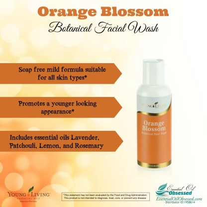 orange blossom facial wash