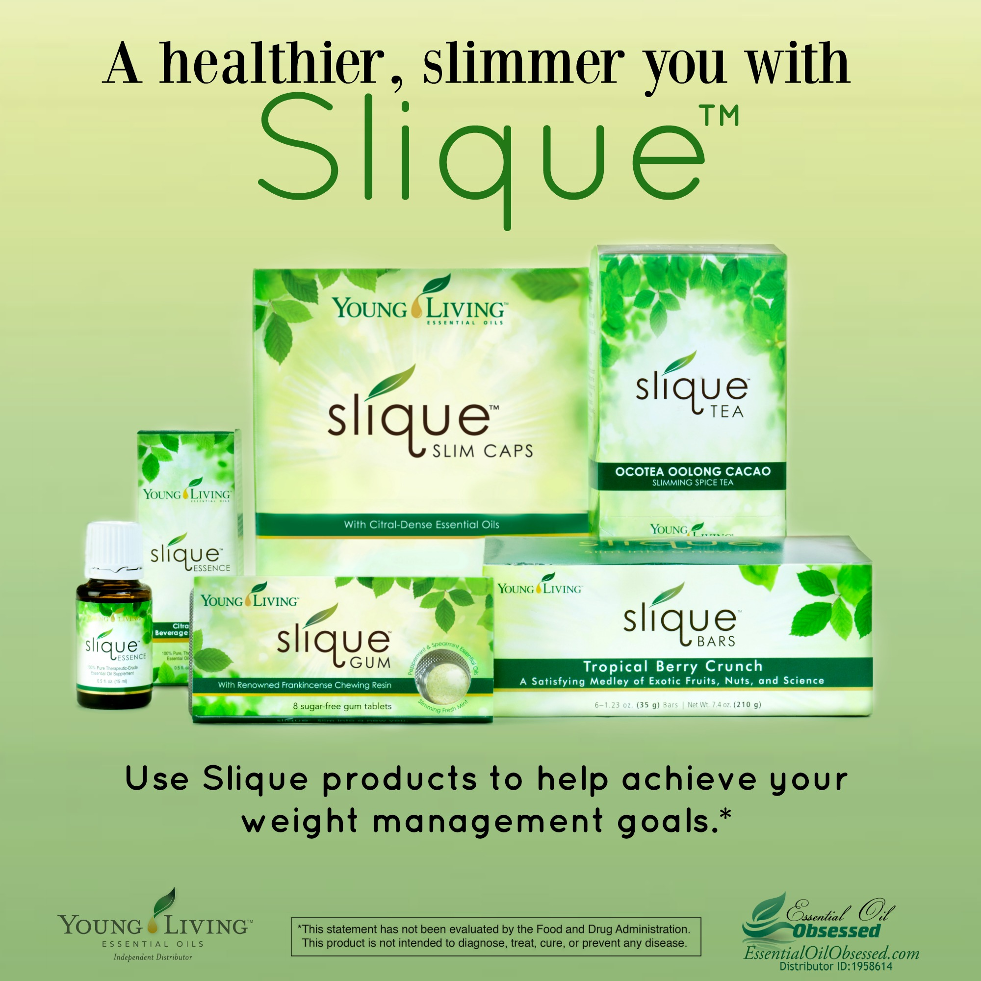 Art Line Young Living : Slique™ product line from young living essential oil