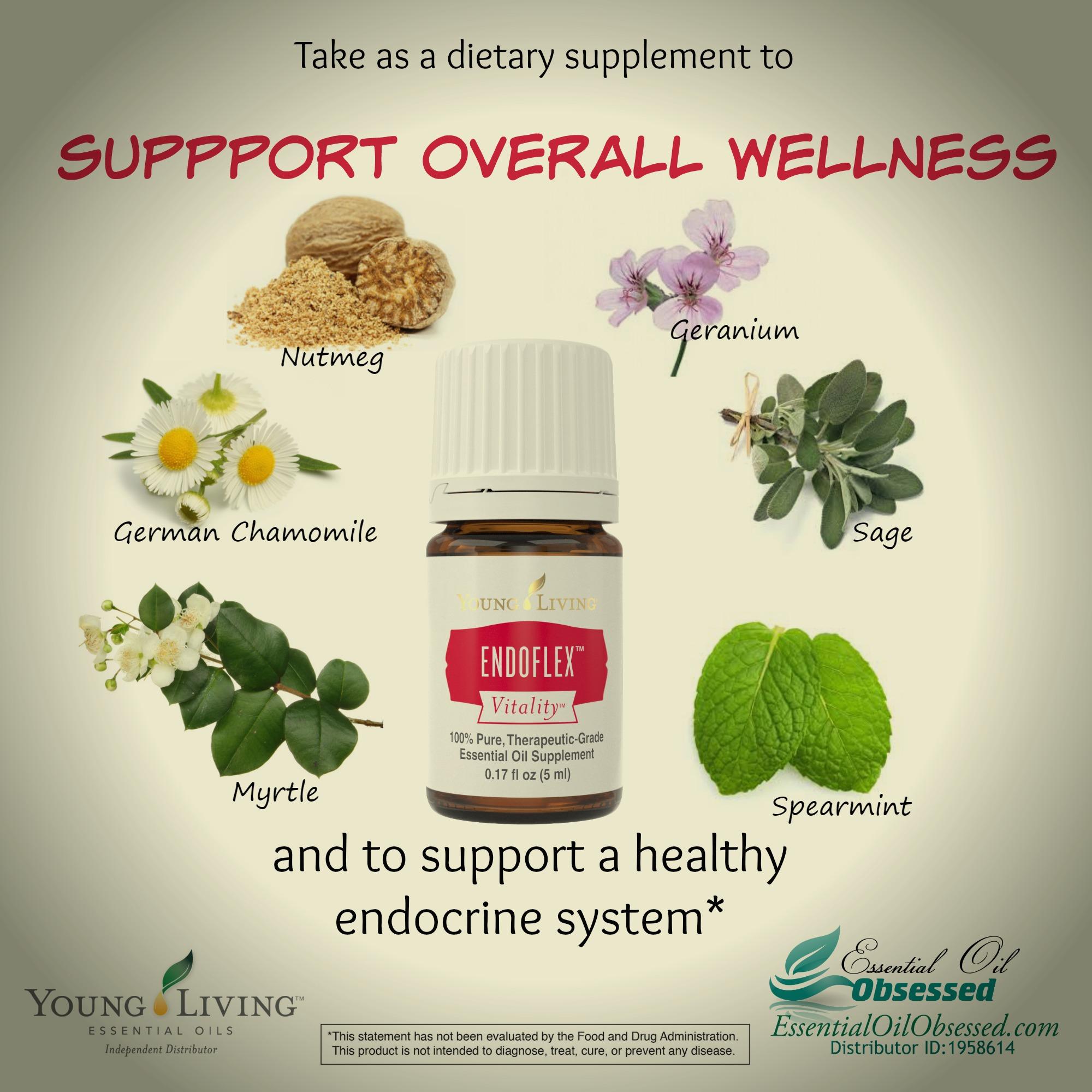 Endoflex Vitality Dietary Essential Oil Essential Oil Obsessed