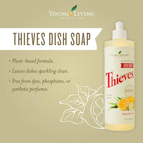 Thieves 174 Dish Soap Essential Oil Obsessed