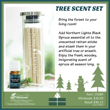 Young Living Christmas Tree.Tree Scent Set Essential Oil Obsessed