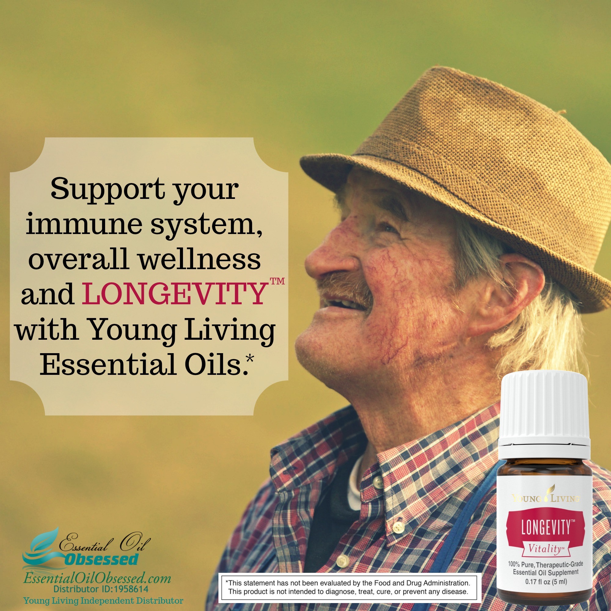 Longevity Vitality Essential Oil Essential Oil Obsessed