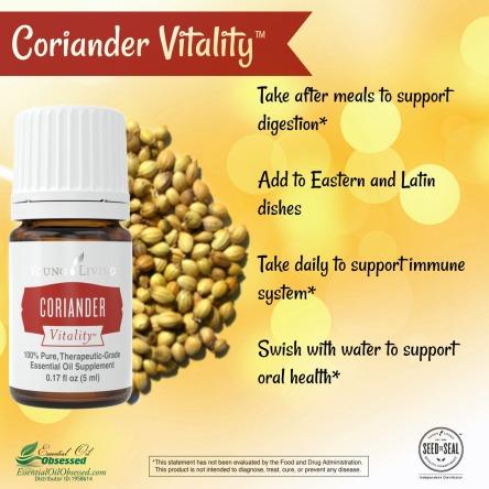 coriander vitality