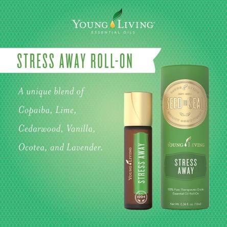 Stress away roll on microcompliant