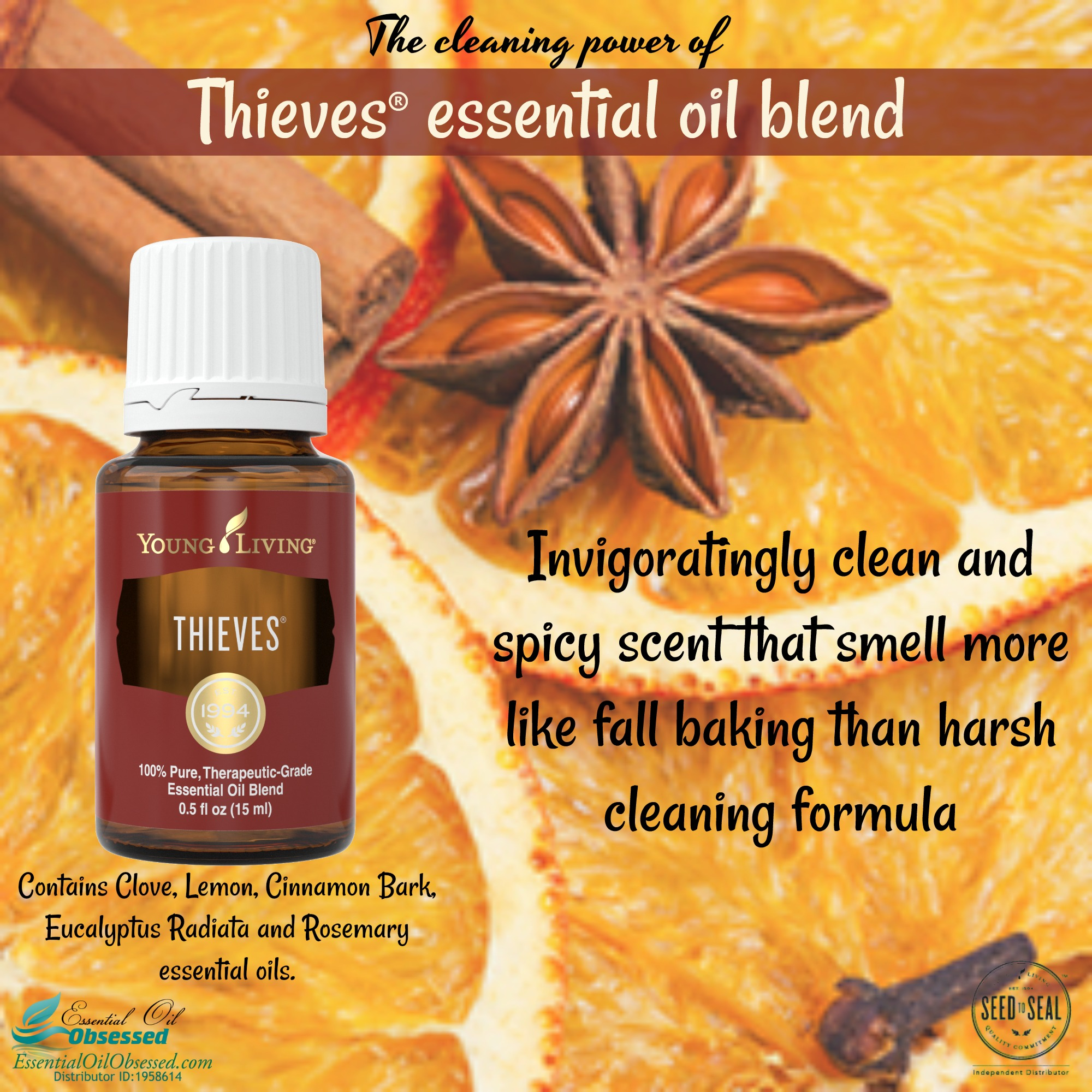 Thieves®  Essential Oil Blend