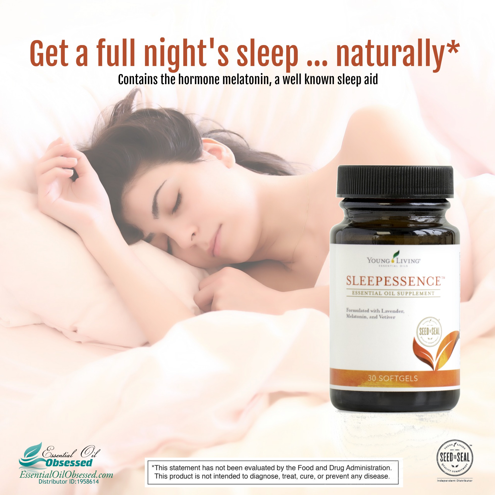 SleepEssence™ essential oil supplement