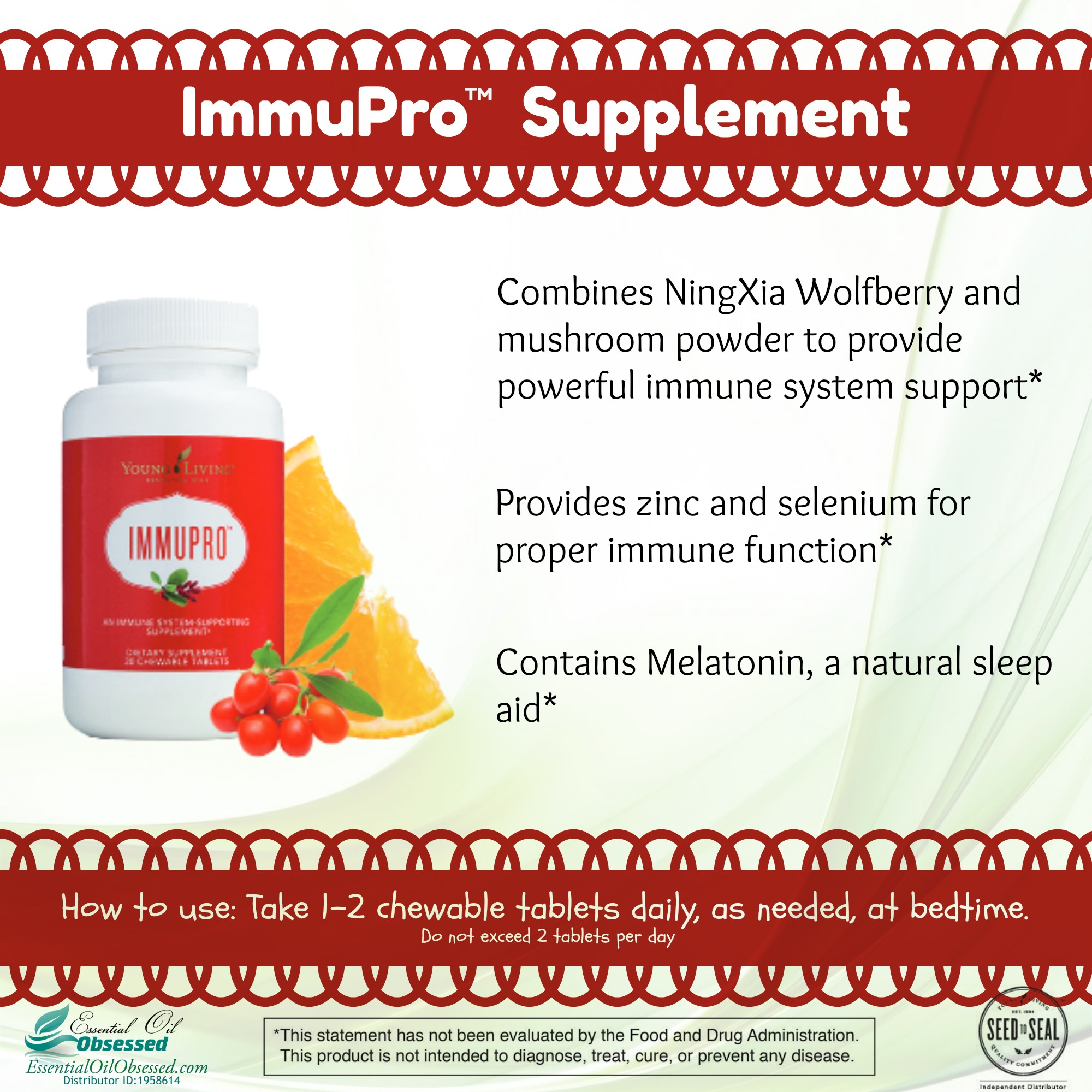ImmuPro™ essential oil supplement