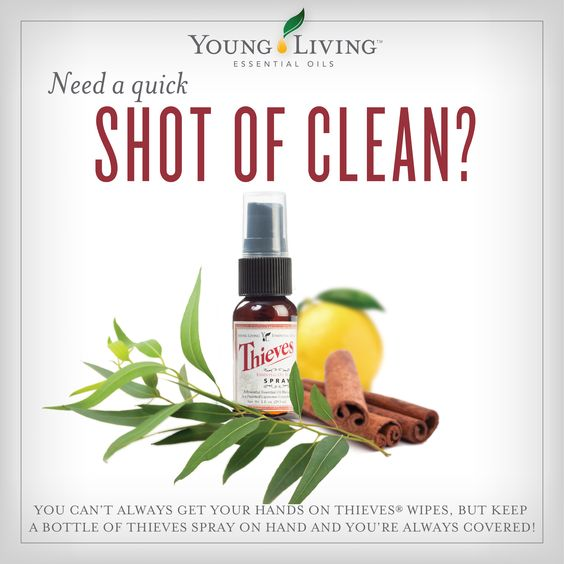 Thieves® Spray by Young Living