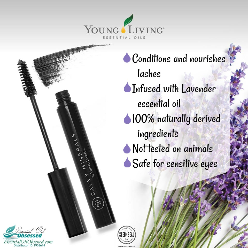 Lavender infused Mascara by Young Living