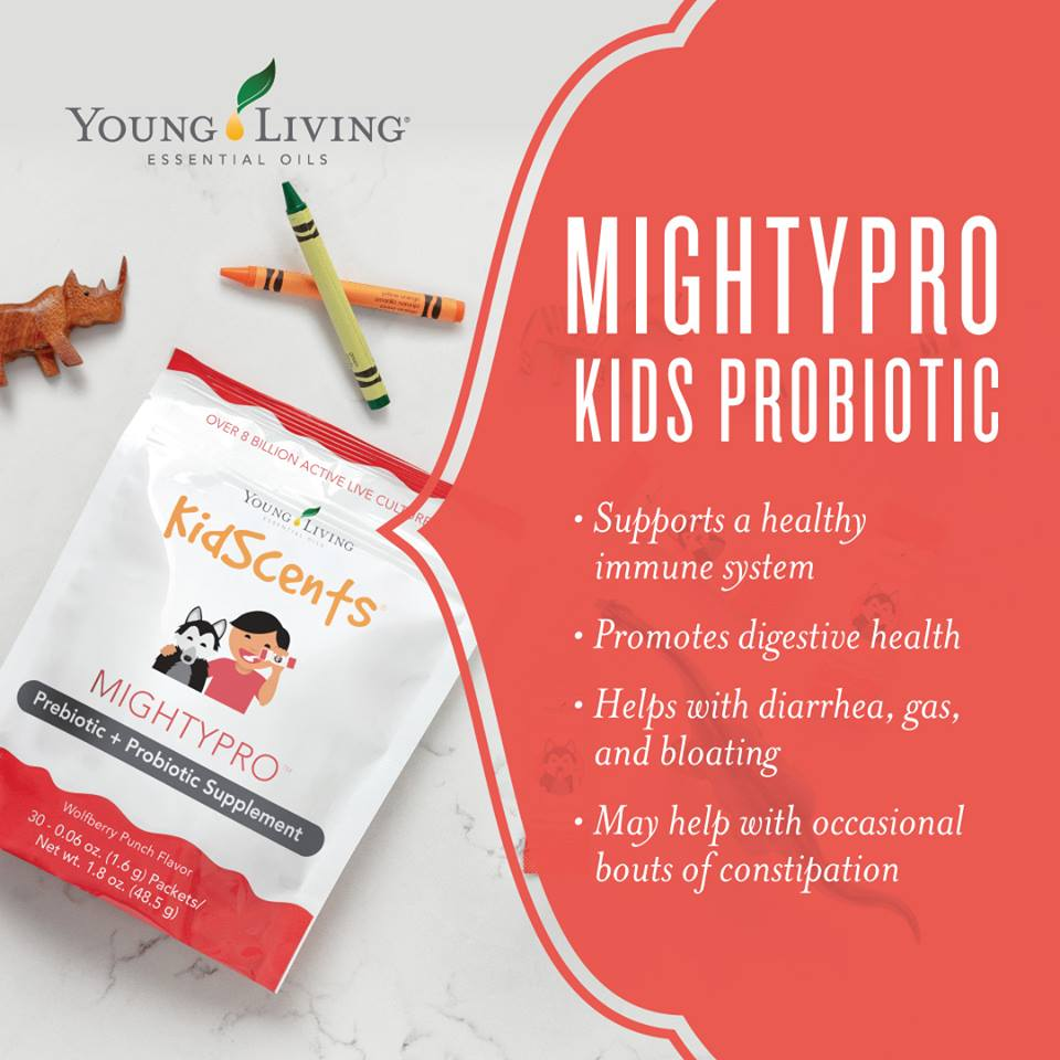 Kidscents® MightyPro™ prebiotic AND probiotic