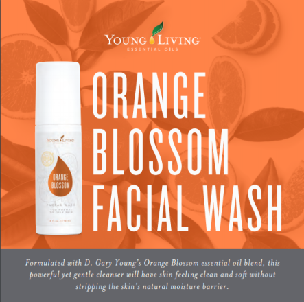 orange blossom facial wash II