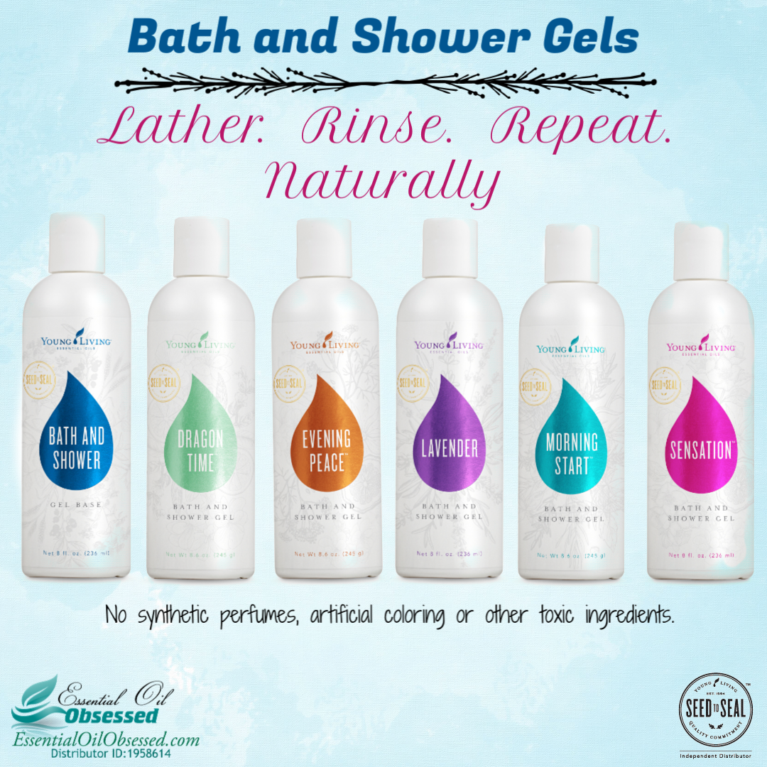 Bath & Shower Gels by Young Living