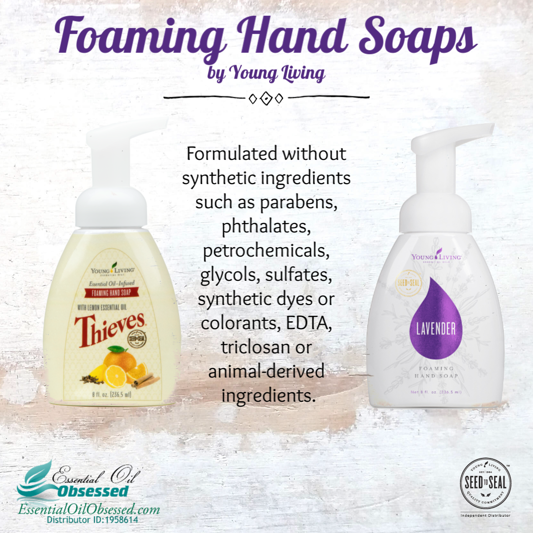 Foaming Hand Soaps from Young Living