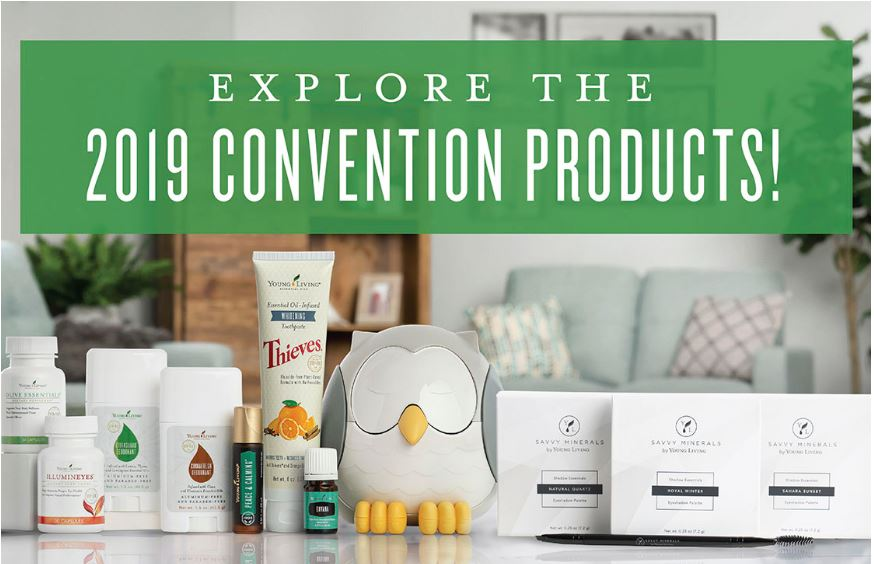 Young Living 2019 Convention – New Produts